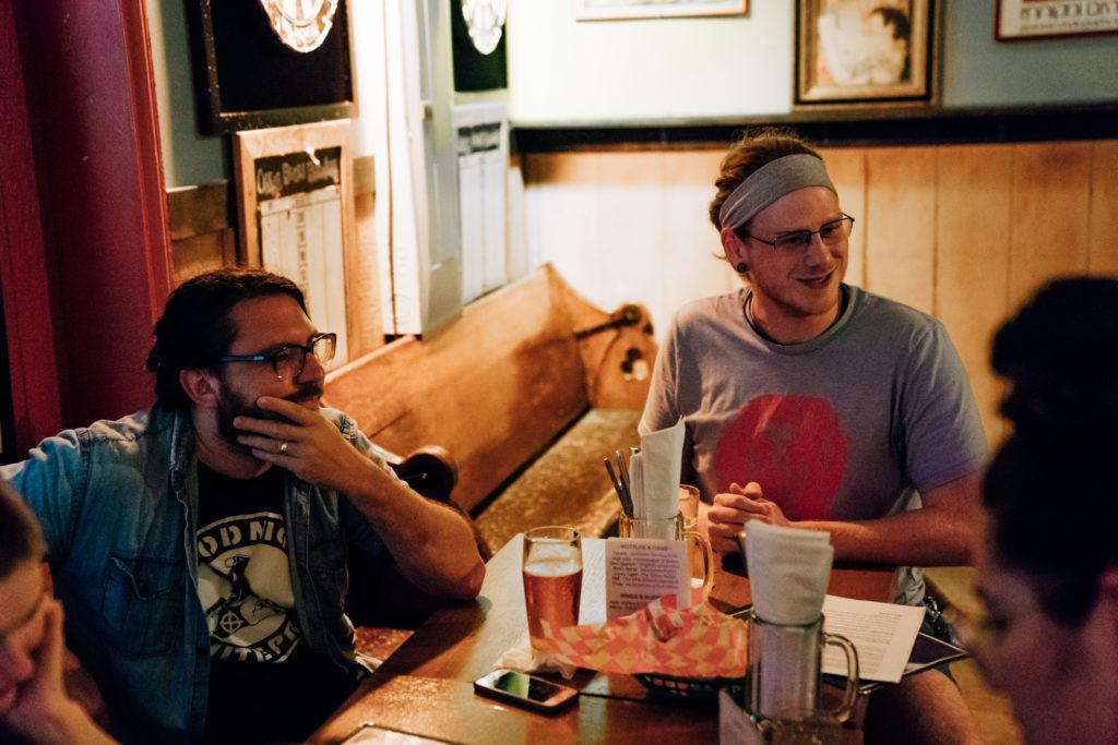 Beck and MattyK listen